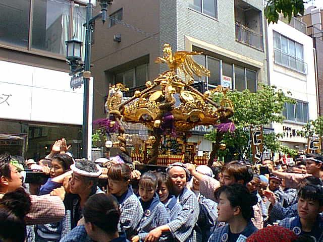 浅草神社 写真 三社祭  「三社祭」「三社囃子」 SANJA-MATSURISANJA BAYA