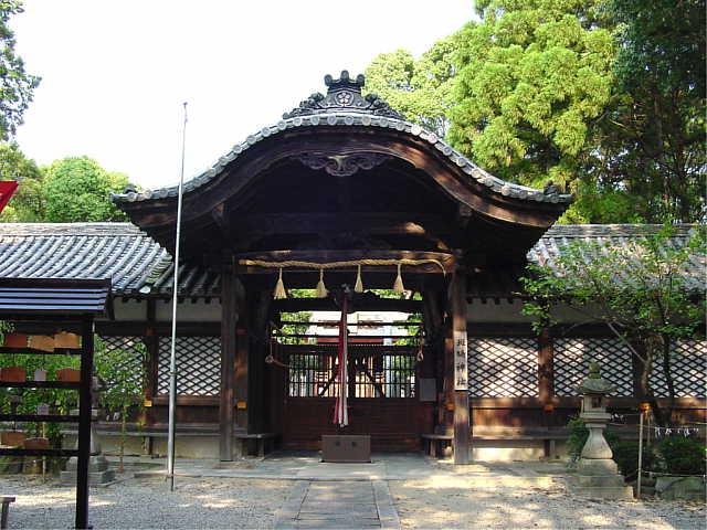 奈良 斑鳩神社 Ikaruga Jinja Sh...