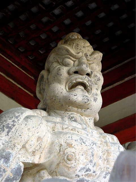 金峯山寺 金剛力士像 阿形 写真  「金剛力士像 吽形」「金剛力士像 阿形」 Kongo-Rik