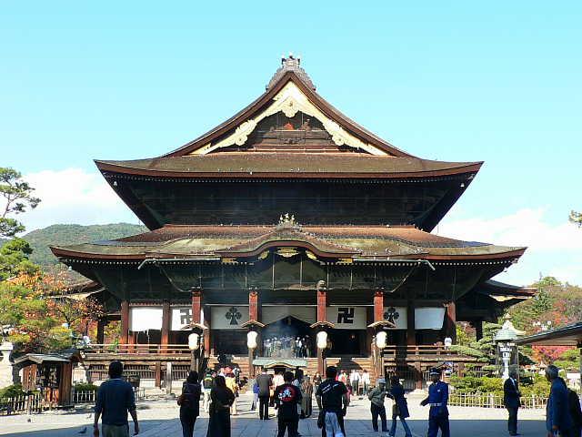 善光寺(ぜんこうじ)      Zenko-ji Temple            10.Oct.2006           天空仙人の神社仏閣めぐり